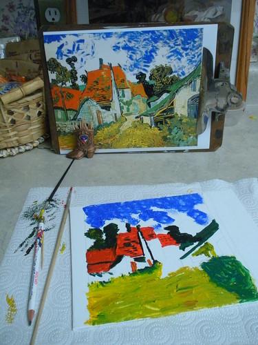 Van Gogh Reproduction - Villiage Auvers