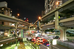 Tanimachi Junction - 14 (Kabacchi) Tags: night tokyo highway  nightview expressway  interchange      jct tanimachijunction ~tanimachijunction~