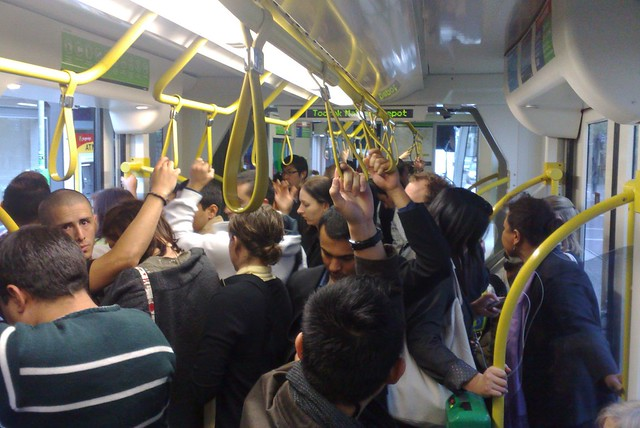 POTD: Tram crowding