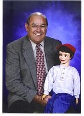 Ellis with Puppet Jerry (ellishackler) Tags: max ray ellis mark jim lori nancy maxwell hack deanna dee keerti hackler ellishackler