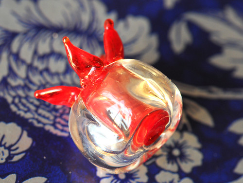 glass, hollow beads, lampwork