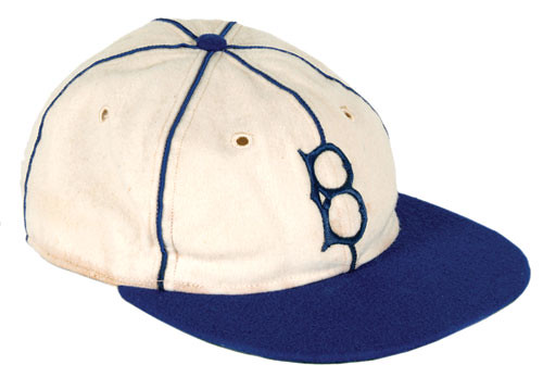 1955 brooklyn dodgers cap baseball the white discarded season favor blue caps full time define