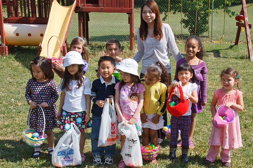 Egg Hunt - Chinese School