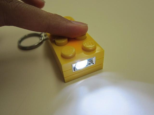 LED Key Light Switched On
