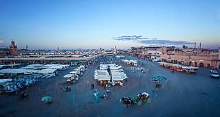 Plaza Djema El Fnaa (Marrakech)