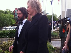Paul Rudd Jane Lynch White House Correspondents Dinner 2011 WHCD