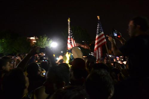 White House bin Laden Death Celebration