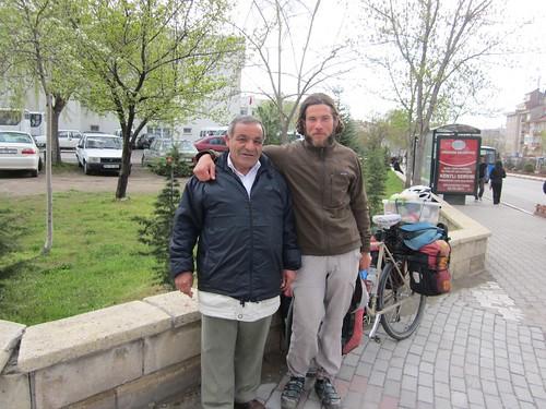 Mustafa, my new Franco-Turk friend.