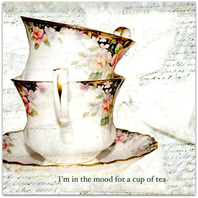 Texture Tuesdays' Teacups serendipity