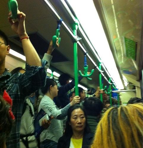 POTD: Evening tram overcrowding