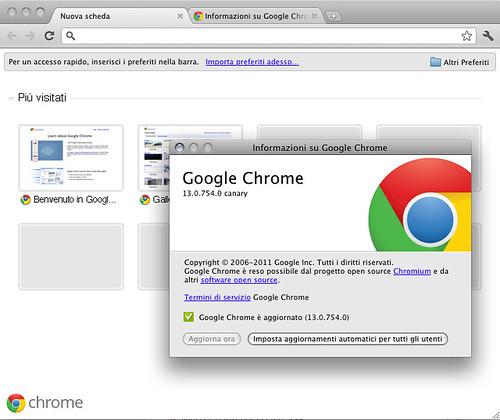 Google Chrome Canary - Mac