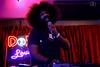 Reggie Watts (Do512.com) Tags: austin shiner reggiewatts diamondcenter themeek do512 do512lounge blackryder thenightbeats 20110430 loungereggie