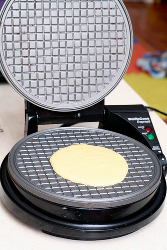 the waffle cone maker is the newest small appliance to grace our already crowded counter tops theyu0027re a snap to make and cook in about a minute and a
