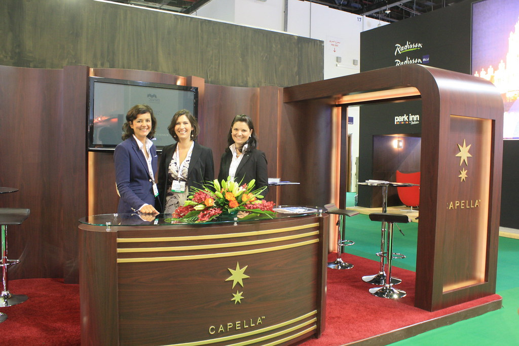 Custom Trade Show Booth - International Dubai