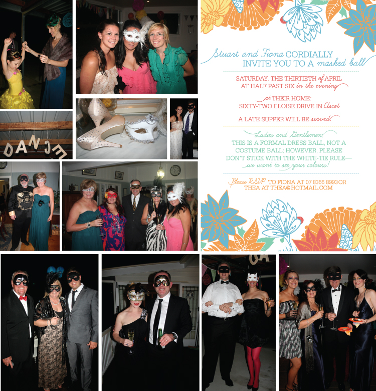 Masked Ball Invitation