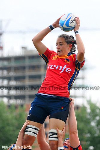 Mundial de Rugby España - Suecia. Foto propiedad Carmen Martínez Torrón©