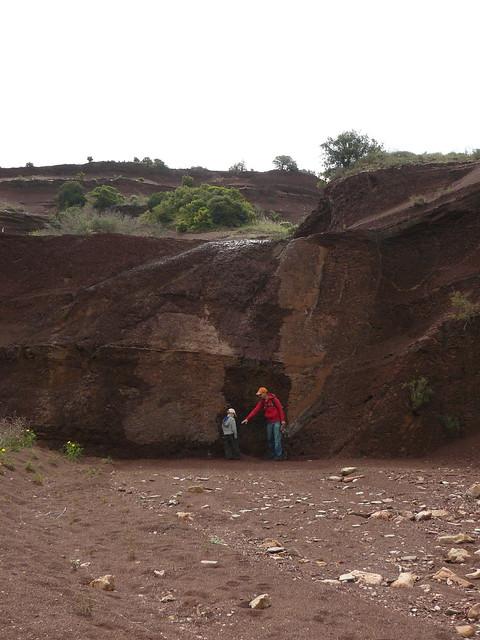 small cliff