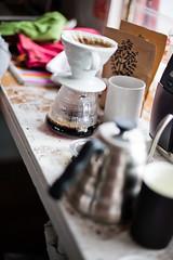 Morning Filtered Coffee @The Studio (nicoalaryjr) Tags: coffee canon studio 50mm beans kenya melbourne filter 5d v60 baratza singleorigin pourover hario sevenseeds nicoalaryjr lebibii
