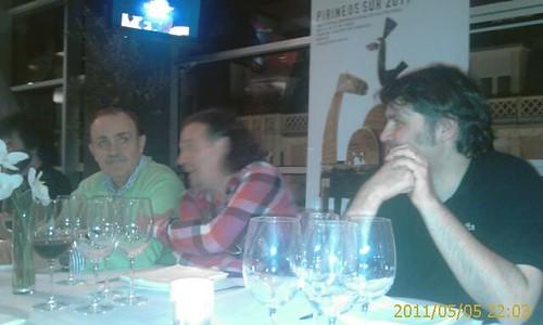 Cena Presentacion Festival Pirineo Sur 2011 by LaVisitaComunicacion