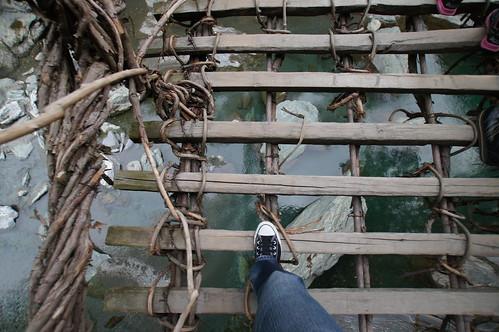 祖谷の蔓橋 Iya Kazurabashi