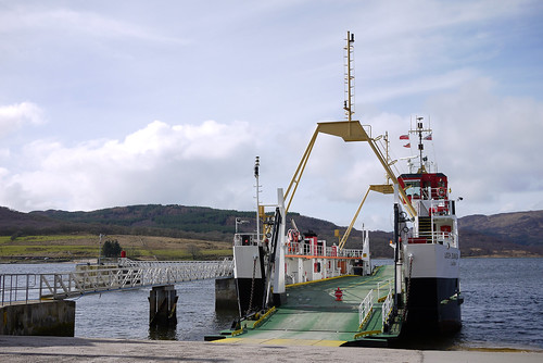Ferry crossing to Bute