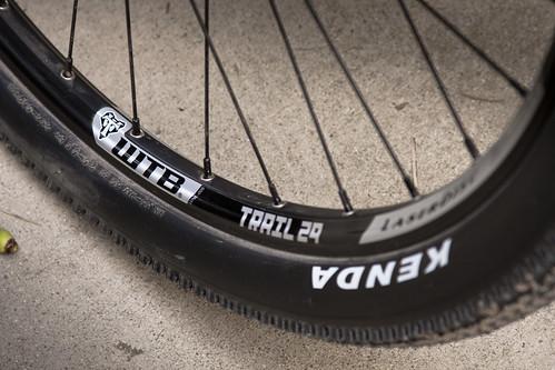 WTB Trail 29 wheels.