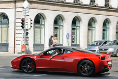 Ferrari 458 Italia (Lambo8) Tags: red horse black car rouge switzerland photo hp italian nikon italia power suisse geneva d 8 s ferrari mat porsche 200 28 af gt nikkor modena ge 80 genve lamborghini f28 supercar v8 ch 80200mm 80200 80mm 200mm 458 afd roff modene d80 worldcars