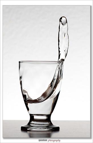 copa, agua y movimiento