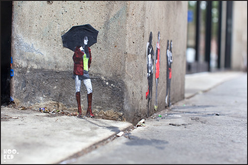 Pablo Delgado — Miniature Street Art in Shoreditch, London