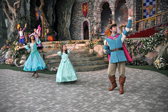 Princess Fantasy Faire Coronation (Angelasews) Tags: ariel dance princess disneyland royal disney mermaid littlemermaid coronation princessfantasyfaire
