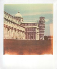 Leaning Tower of Pisa (Davide Patti) Tags: italy tower film polaroid sx70 italia torre cathedral scan belltower unesco worldheritagesite pisa campanile lightleaks tuscany instant analogue duomo toscana leaningtower baptistry leaningtowerofpisa towerofpisa cathedralsquare torrependente gabrieledannunzio piazzadeimiracoli piazzadelduomo torredipisa fieldofmiracles camposanto sx70sonar medievalcathedral colorshade squareofmiracles cattedraledisantamariaassunta impossibleproject px680 px680colorshade px680ff px680colorshadefilmfirstflush