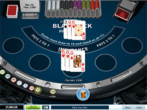 UK Blackjack Single Hand Rules