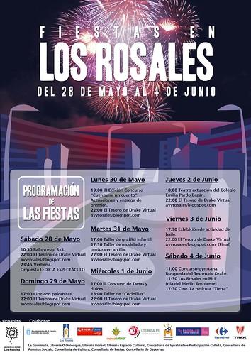 A Coruña 2011 - Festas dos Rosales - cartel