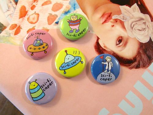 Sci-Fi Caper Buttons 0013_3
