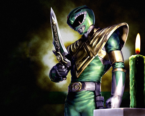 Tommy - the Green Ranger before Black Ranger in Glasgow let him die
