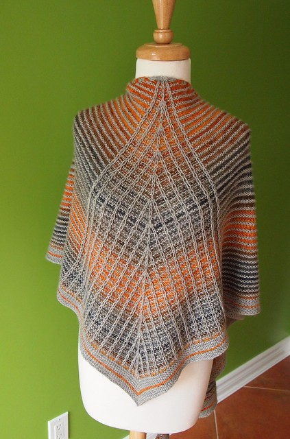 Transatlantic shawl