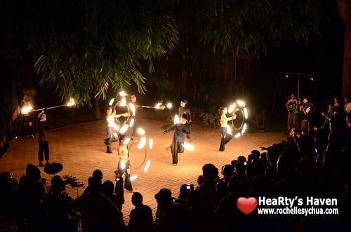 davao fire show