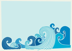Waves in Progress (Because Studio.) Tags: illustration waves vector