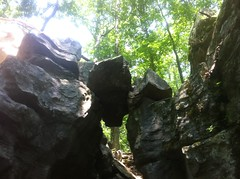 Walker Branch Mini Canyon Balancing Rock