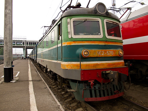 Our train's engine