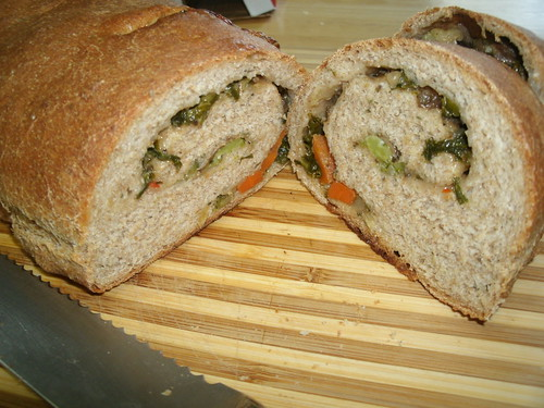 stuffed bread