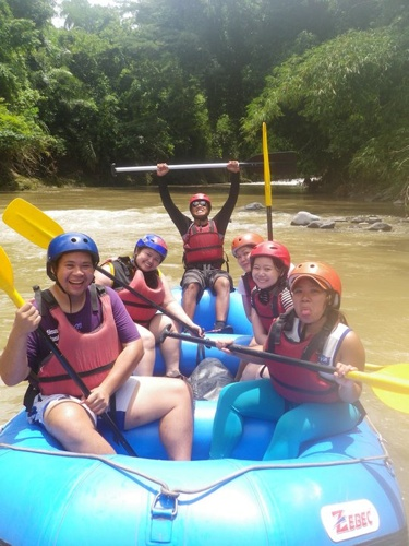 dwa team merla davao white water rafting