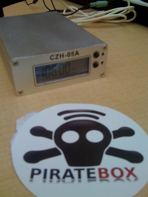 Pirate box on the air