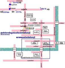 แผนที่กรุงเทพ-จันทบุรี
