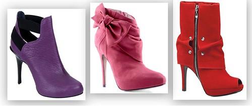 sapatos coloridos inverno 2011
