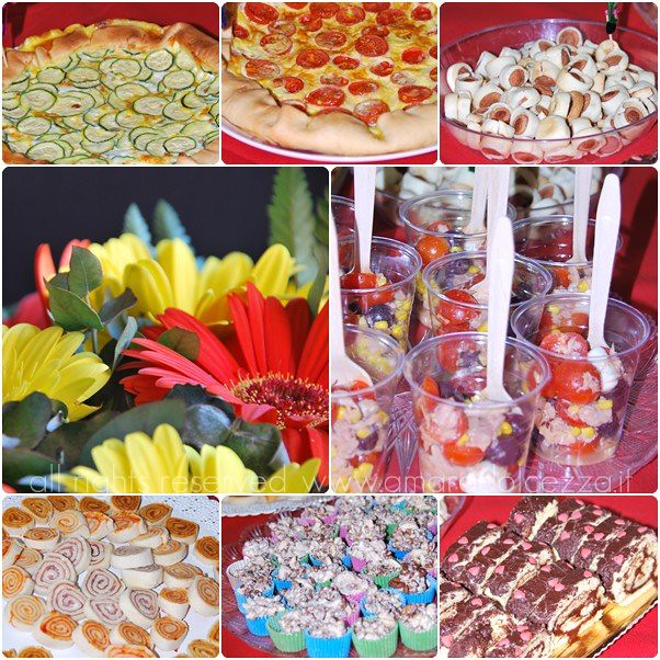 buffet compleanno