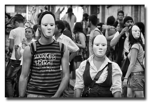 Manifestación (1) by Andrés Ñíguez