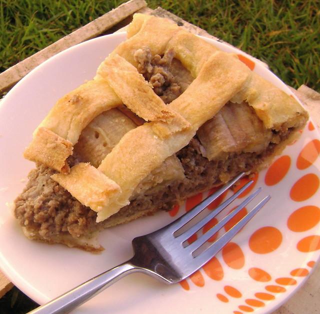 Torta de Carne com Banana