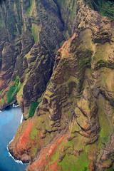 Helicopter Tour (faid2black) Tags: ocean beach canon island hawaii pacific helicopter northshore kauai maunaloa 40d