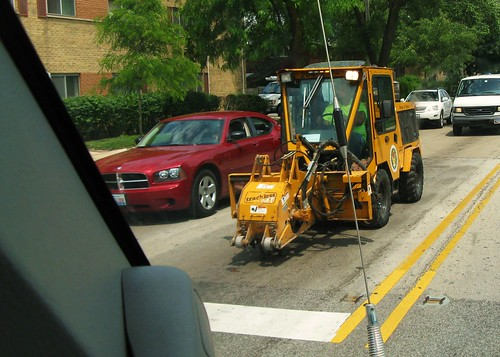 Skokie Public Works tractor. Skokie Illinois USA. June 2011. by Eddie from Chicago